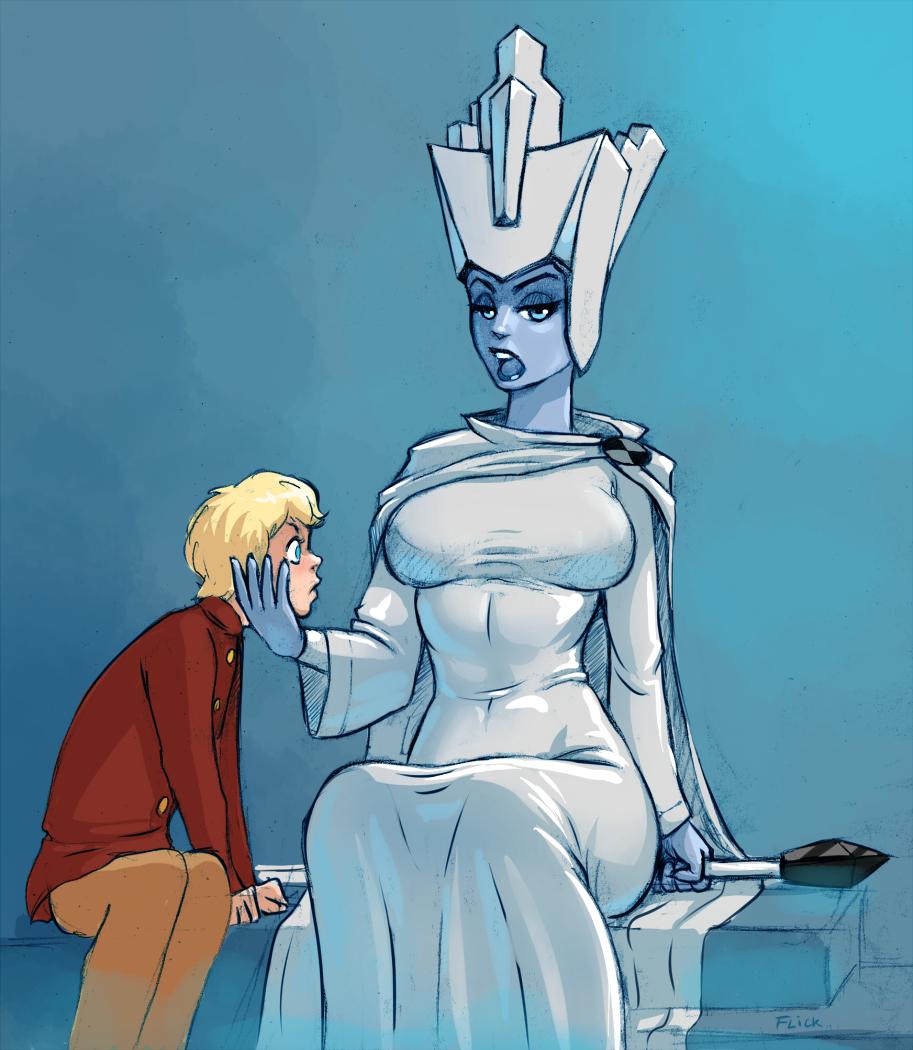 эротическое фото снежной королевы