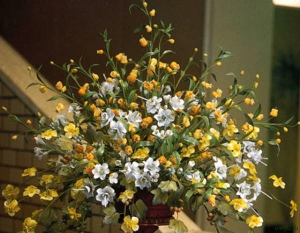 Искусственные цветы для начинающих 5