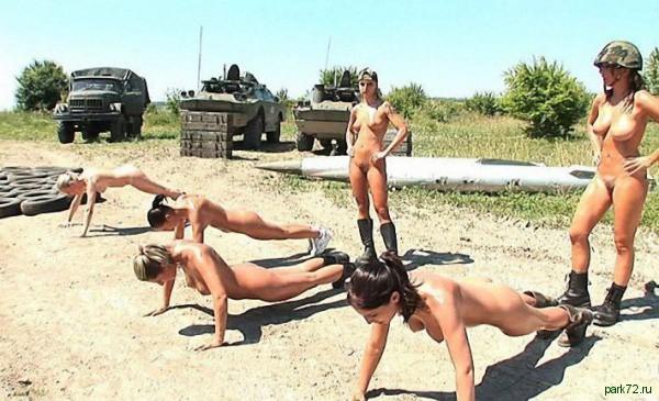 смотреть голое фото девушек в армии