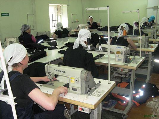 Швейное производство на анонс