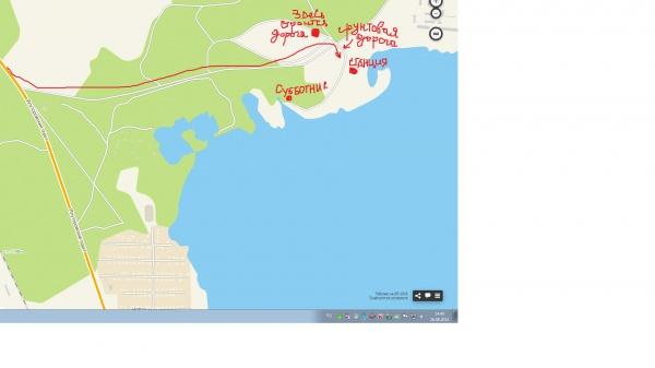 субботник карта