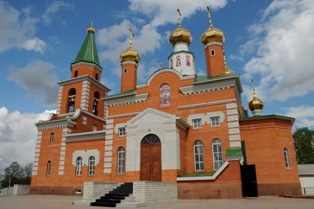 Свято-Троицкий храм Н.Тавда