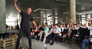 Кристоф Фале считает, что немецкий коворкинг создан для счастья