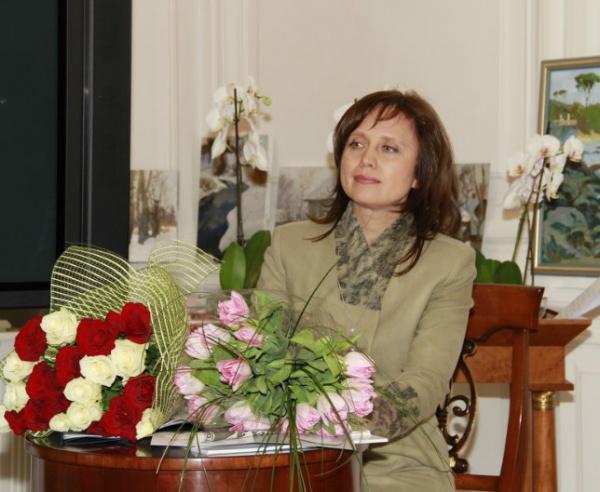 Юлия Коваленко на презентации фильма в 2010 году