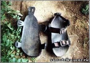 из старых шшин - вот такие сандалии тюменцы предлагают делать.... Ну....мЭт если заводы и магазины исчезнут...