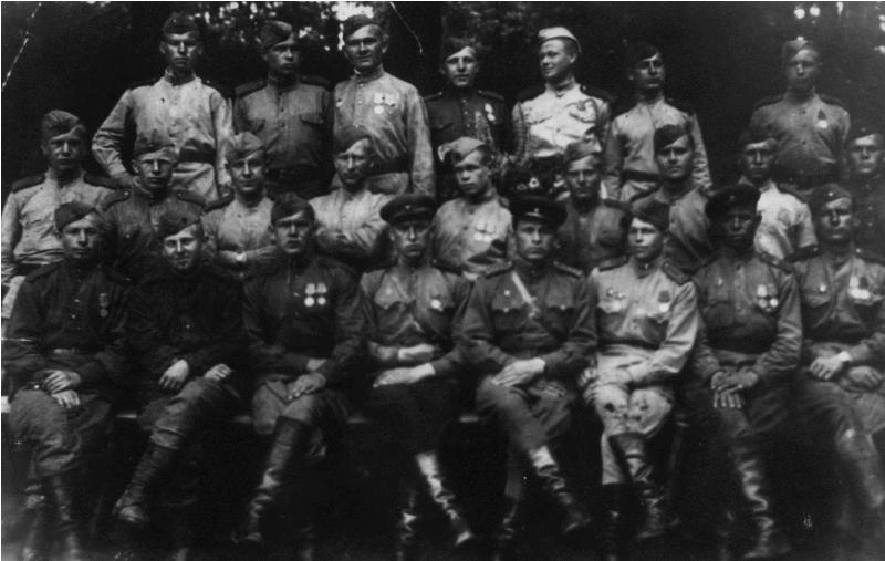 Иван Григорьевич Василенко и соратники