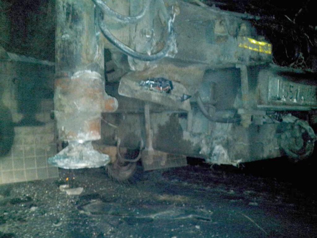 32-летняя жительница села Ингалинское Упоровского района в состоянии опьянения на автомобиле ГАЗ3110 въехала в заднюю часть лесовоза