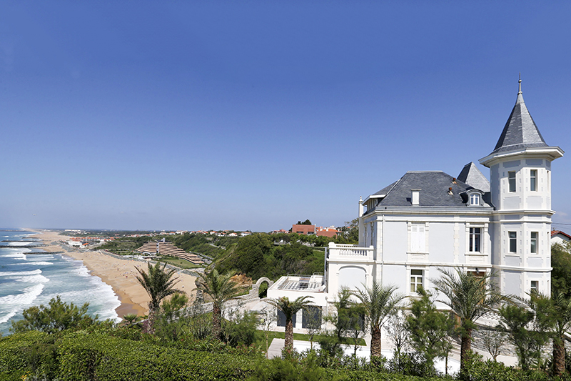 General view of the house that belongs to Kirill Shamalov in Biarritz, southwestern France, June 20, 2015. Picture taken June 20, 2015. To match Special Report RUSSIA-CAPITALISM/DAUGHTERS REUTERS/Regis Duvignau - RTS6AE7