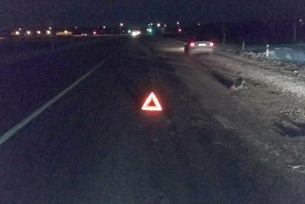 Автомобиль «ЗАЗ Шанс» на 74-м километре автодороги Тюмень-Омск сбил 35-летнюю нетрезвую женщину, голосовавшую на дороге в десятом часу вечера