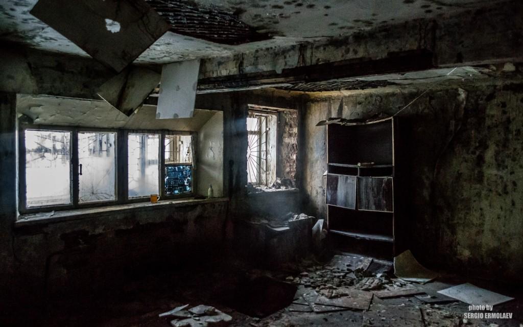 В полуподвале дома Кержанцова. Февраль 2016