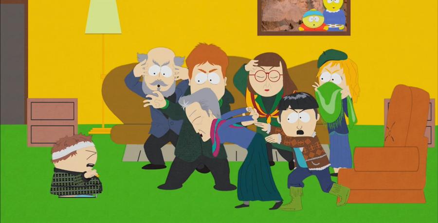 Мультсериал Южный парк серия-пародия про экстрасенсов