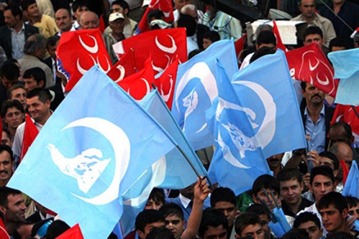Ультраправые турецкие националисты Серые волки