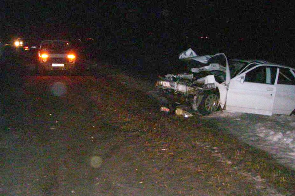 Нетрезвый житель Курганской области спровоцировал ДТП на 8-м километре автодороги Частоозерье-Бердюжье
