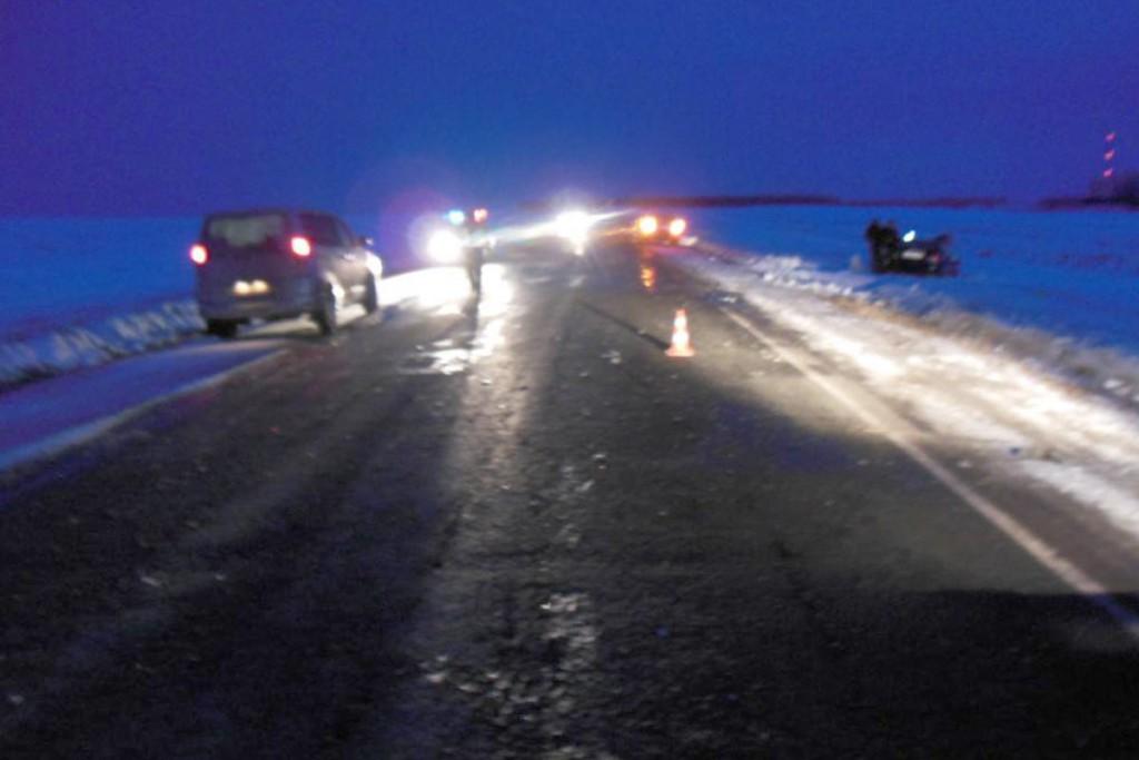 4 человека травмированы в столкновении «Лады» и «Хонды» в Исетском районе, на автодороге п.Зерновой-п.Коммунар
