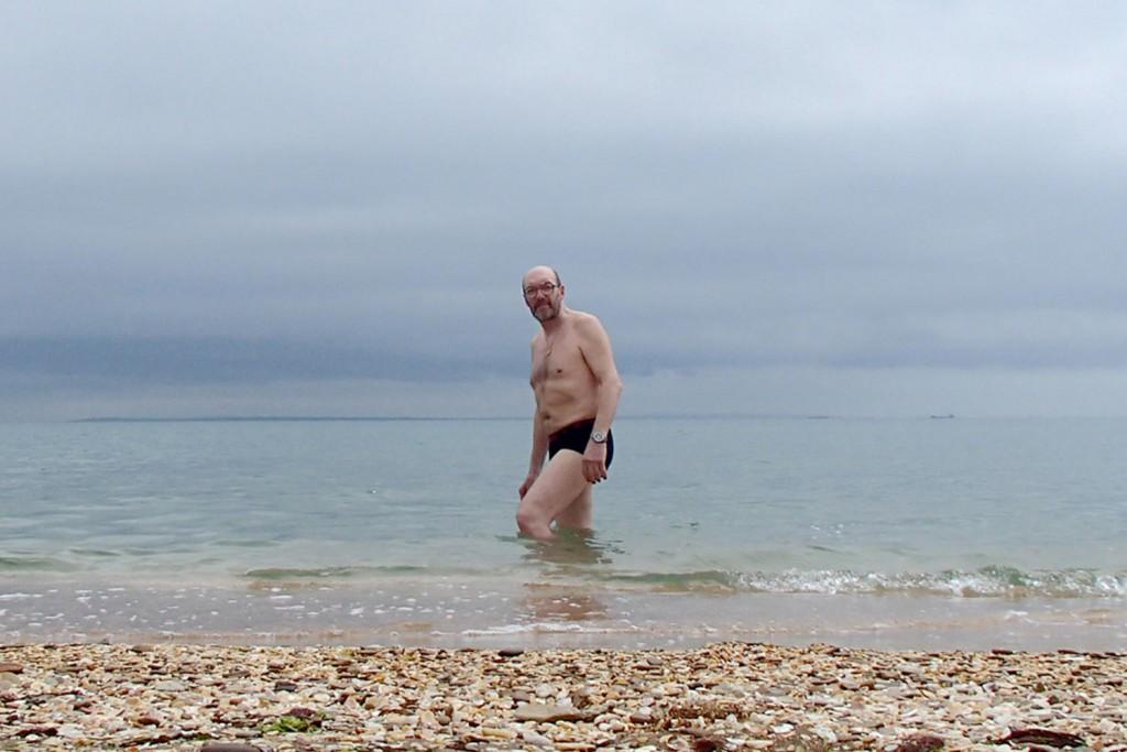 Павел Ситников в Черном море