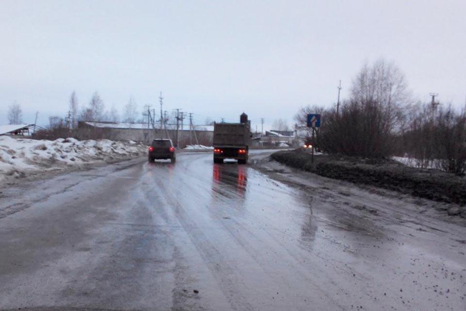 39-летний пешеход попал под колеса большегруза «Вольво» на 1-м километре автодроги Тобольск-д.Веснина под утро 27 февраля, он погиб