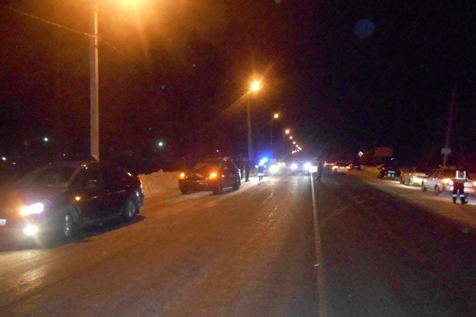 30-летний пешеход погиб в окрестностях Тюмени в субботу в седьмом часу вечера