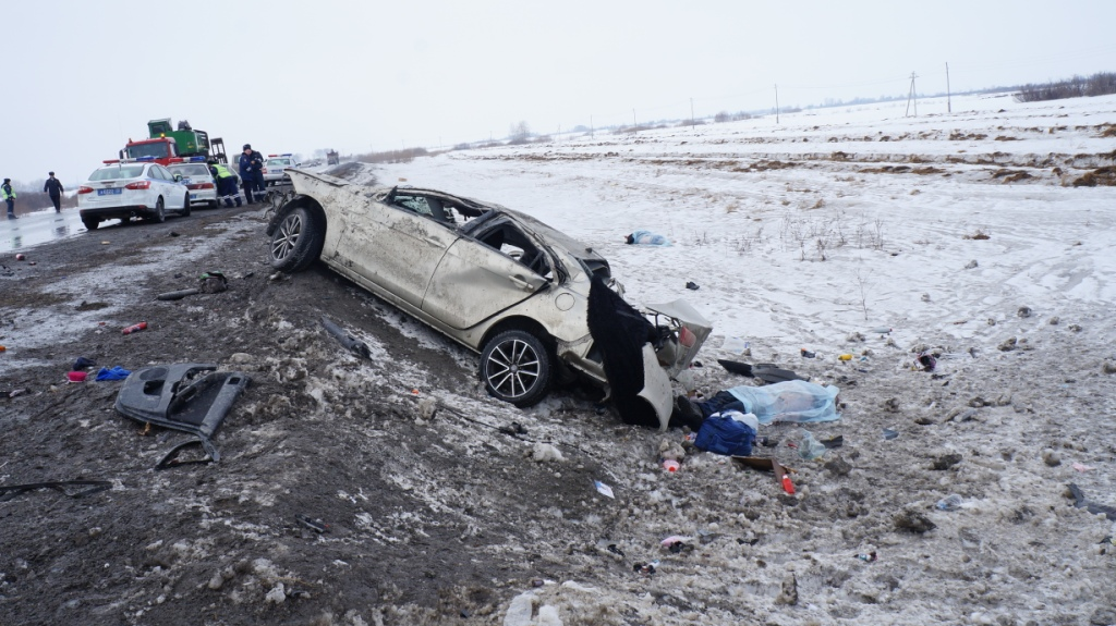 Трое погибших на трассе4