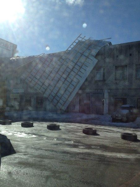 последствия ураганного ветра в Екатеринбурге
