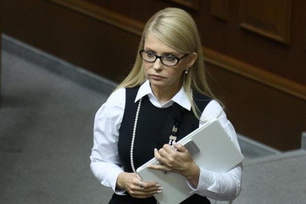 Verkhovna Rada deputy Yulia Tymoshenko on February 16, 2016.