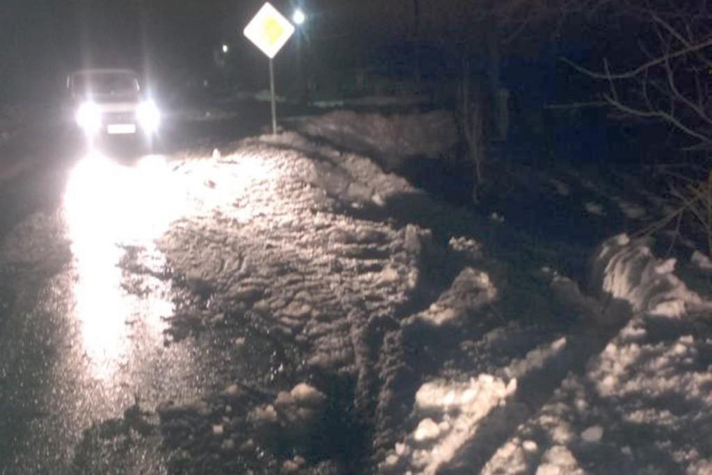 63-летняя женщина сбита «Ладой» 99-й модели в селе Хохлово Ялуторовского района, после этого автомобиль съехал в кювет
