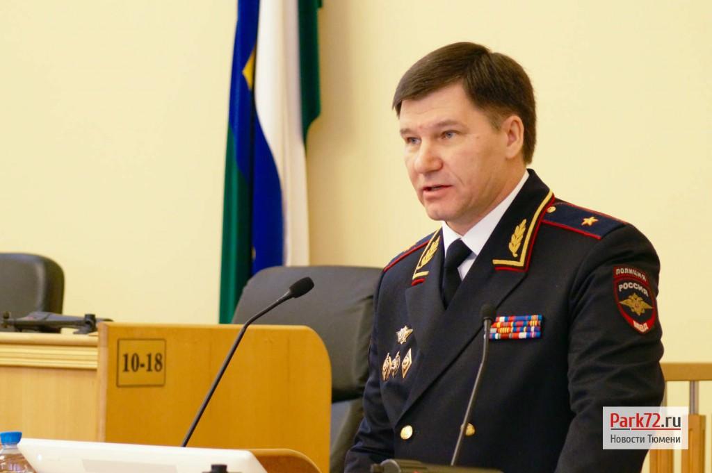 Начальник УМВД по Тюменской области Юрий Алтынов