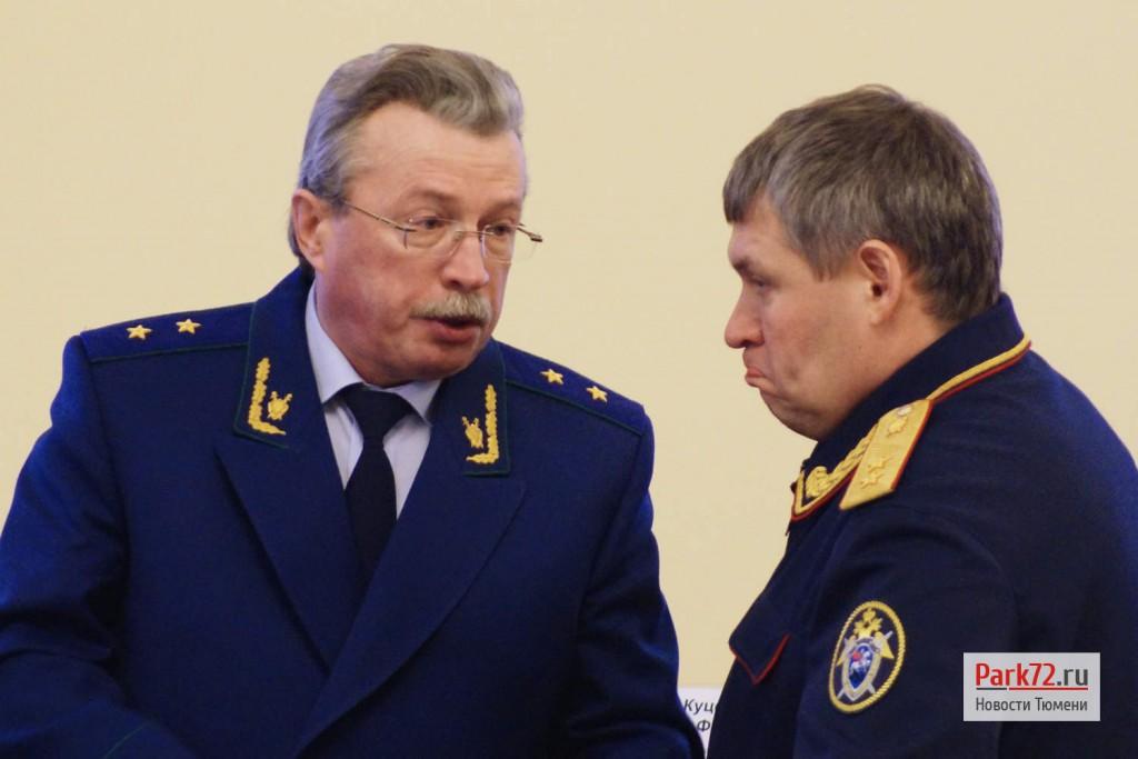 Главный прокурор области Владимир Владимиров и главный следователь региона Михаил Богинский