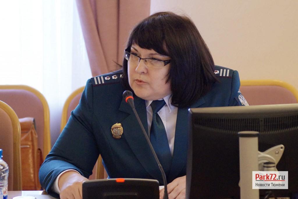 Татьяна Чалилова - сотрудник областной налоговой службы