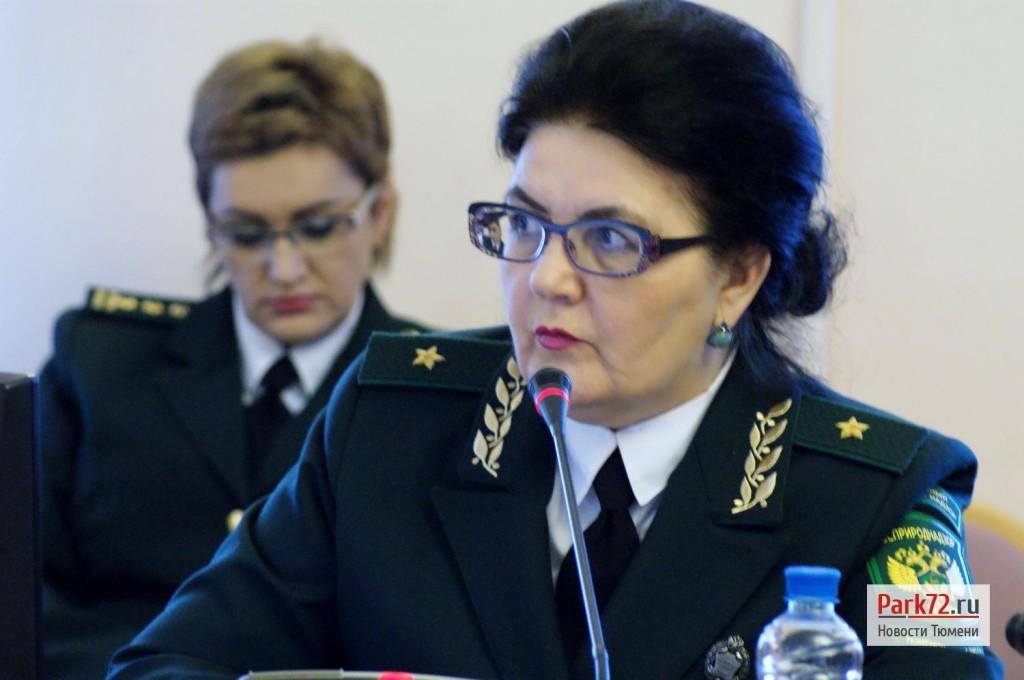 Мария Мартынчук - руководитель Управления Росприроднадзора по Тюменской области