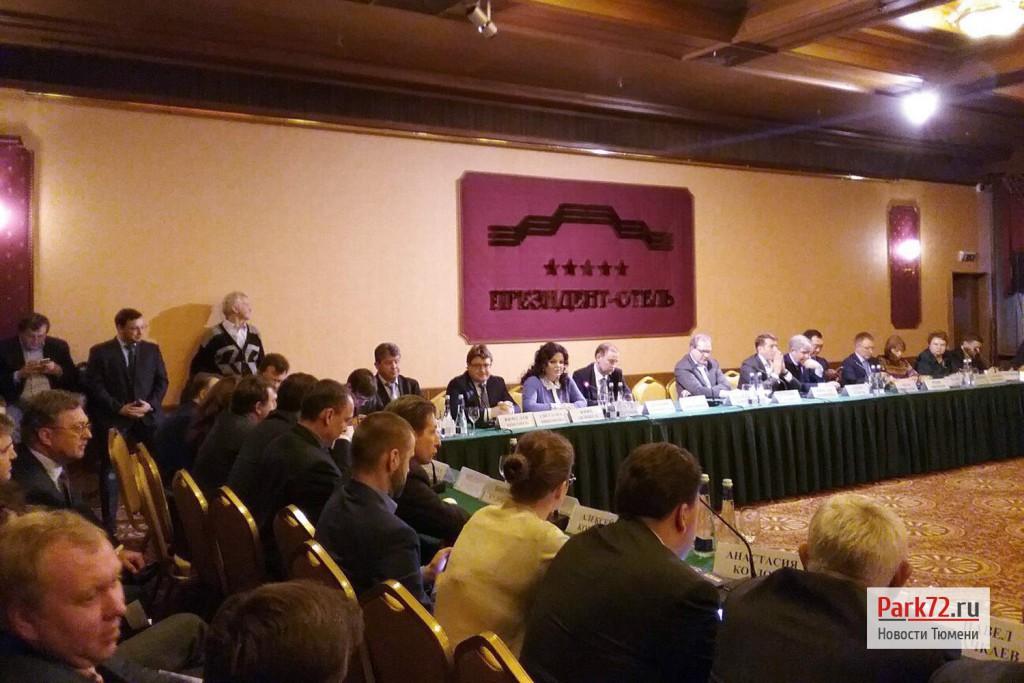 На круглом столе обсуждали, в частности, рост тарифов и проблемы ЖКХ