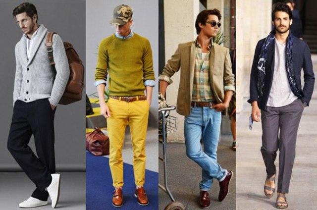 Весенняя мода для мужчин