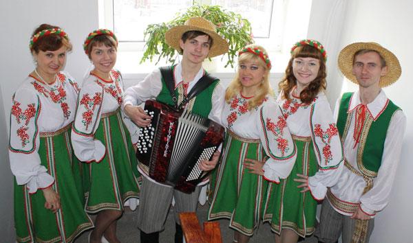 Сольный концерт ансамбля белорусской музыки «Палессе»