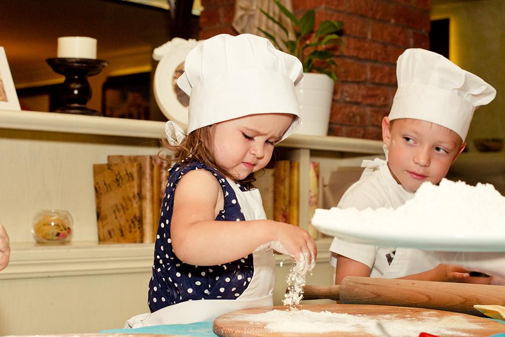 кулинарный мастер-класс для малышей.
