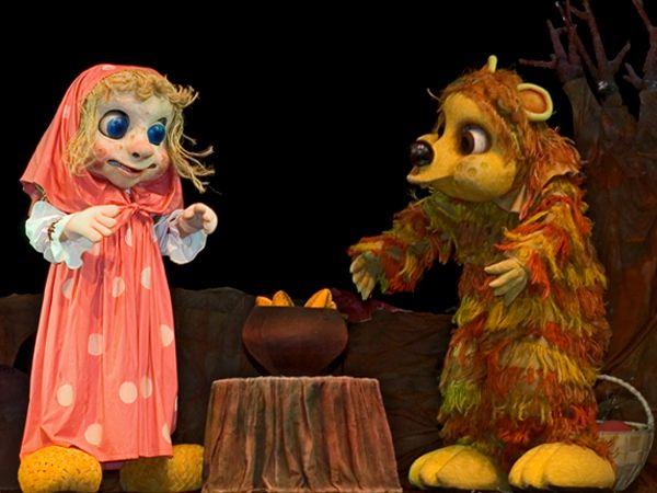 Спектакль «Маша и медведь»