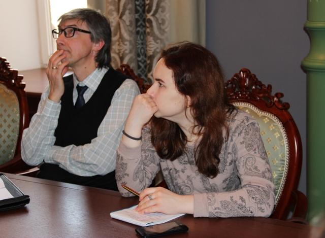 На встрече. Фото Елены Кухальской.