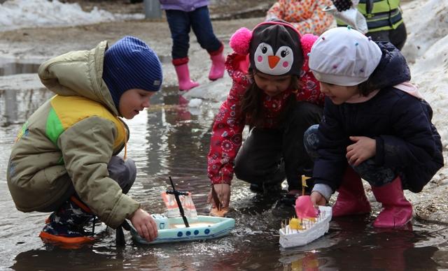 Весенние игры для детей дома и на улице!