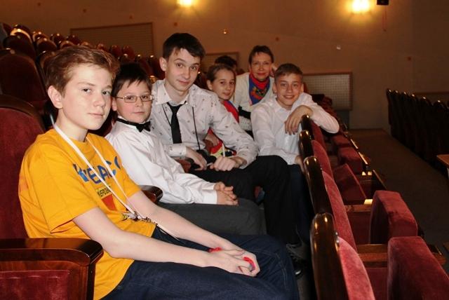 Участники младшей группы