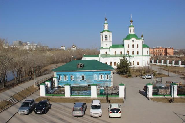 Вознесенско-Георгиевский храм Тюмени. Фото Ирины Лютоевой.