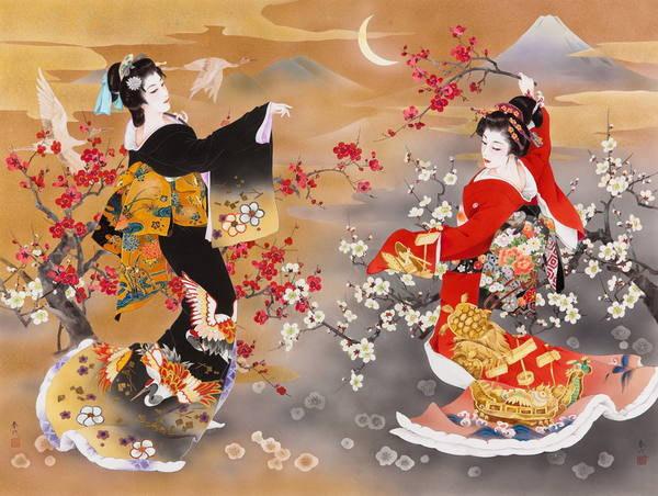 Цветы и женщины востока