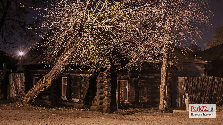 Один из старейших домов на улице Каширская. Ночь сентября 2015_result