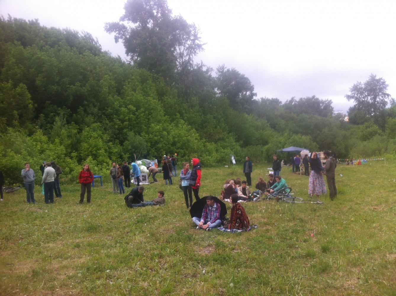 Фестиваль Ключ проходит при любых погодных условиях будь то жара как в прошлом году или дождь и ветер как в этом