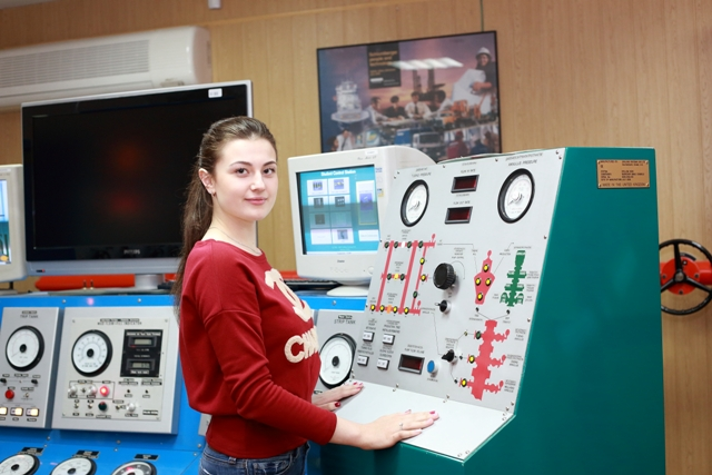 Студентка ТИУ Анастасия Баловацкая. Фото Анны Черепковой