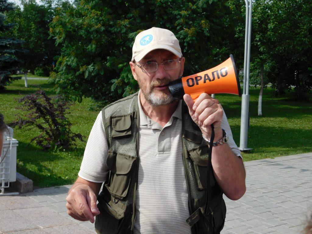 Ученый и геотурист Павел Ситников