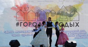 Выступление студии исторического танца Merletto