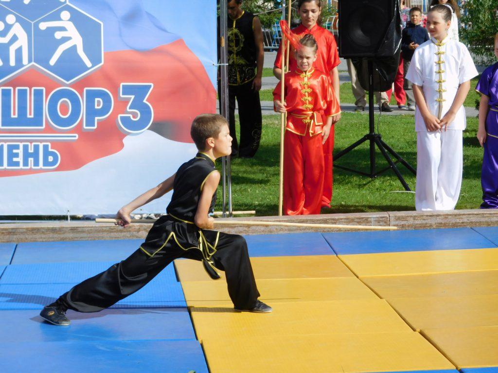 Ученик специализированной детско-юношеской спортивной школы олимпийского резерва №3 г.Тюмени