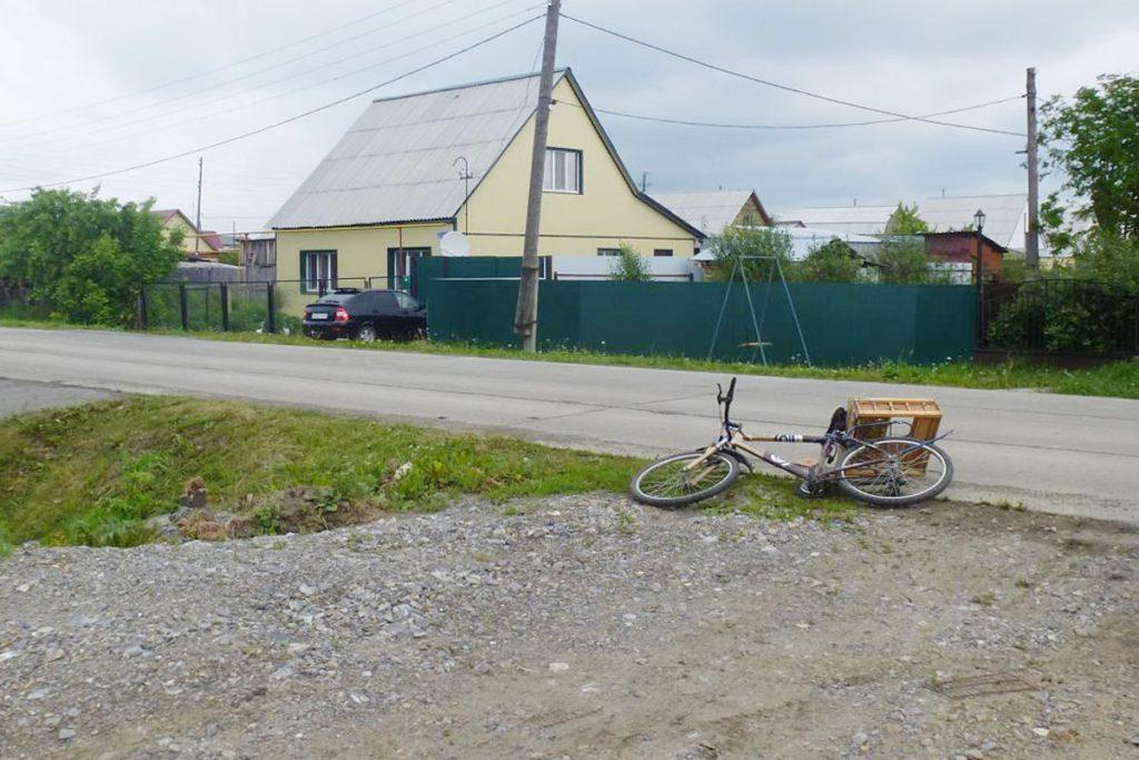 В селе Голышманово 72-летний велосипедист сбит автомобилем «Москвич»