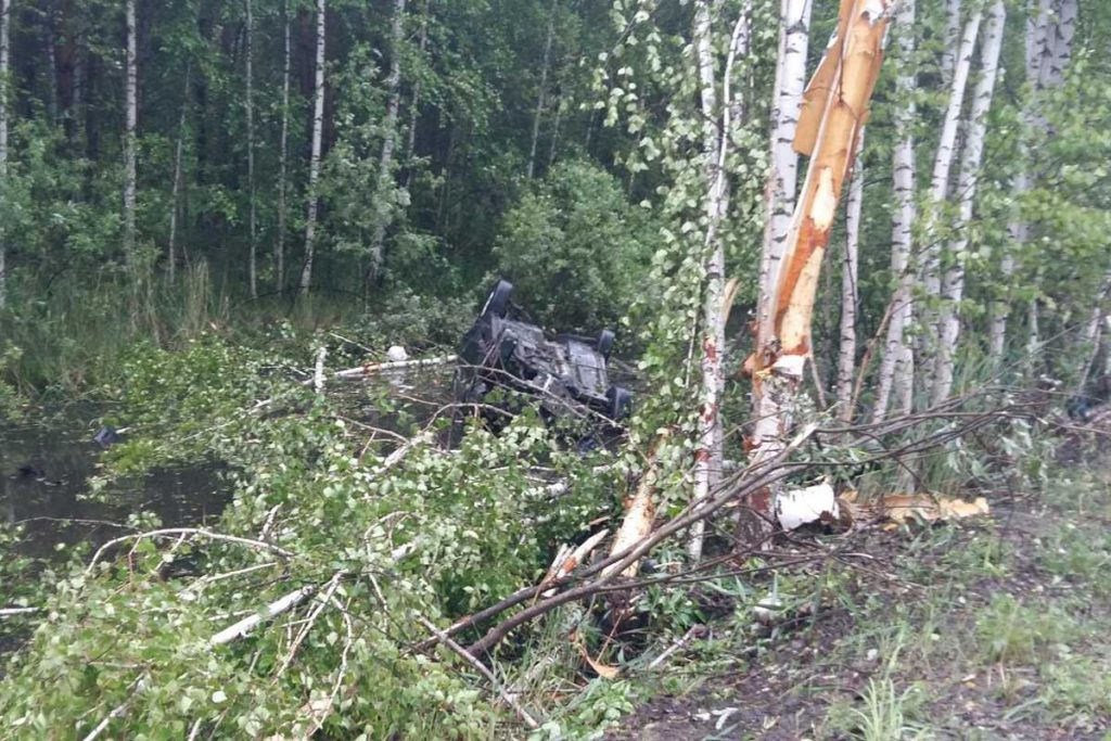 ДТП с летальным исходом произошло в шестом часу утра в Нижнетавдинском районе