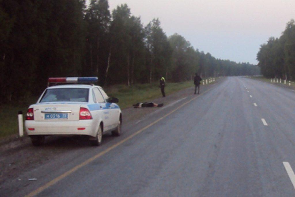 08 июня 2016 года около 2 часов ночи в дежурную часть МО МВД России «Тобольский» поступило сообщение о том, что на обочине автодороги Тюмень-Ханты-Мансийск лежит труп мужчины
