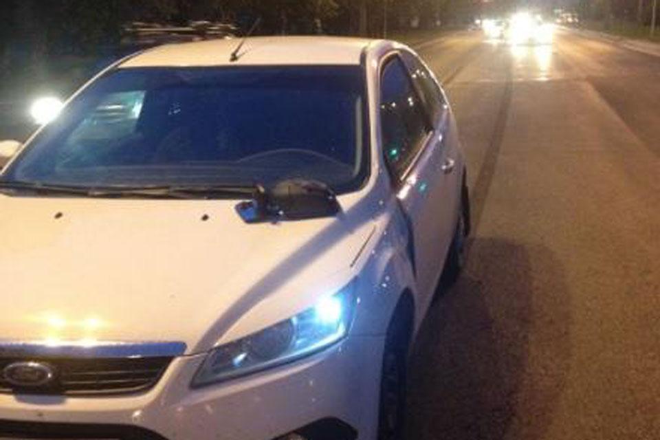 14-летняя школьница сбита автомобилем «Форд»  на пешеходном переходе в Тобольске