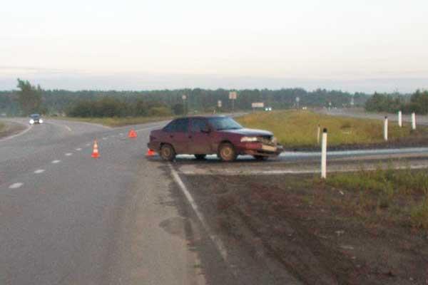 Массовое ДТП случилось на 17-м километре автодороги Тюмень-Боровский-Богандинский